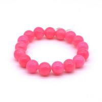 Чётки Янтарь Розовый 15 бусин 14 мм