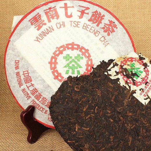 Чай Пуэр Шу Чжун Ча Люй Инь Бин '07 №200