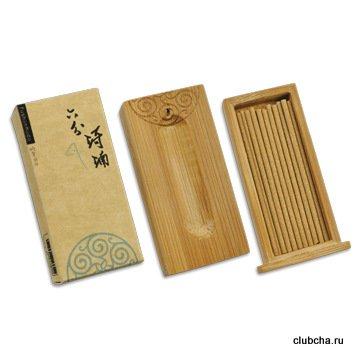 Леу Фэнь Чхи Нань, палочки 57 мм, в бамбуковой Сян Лу