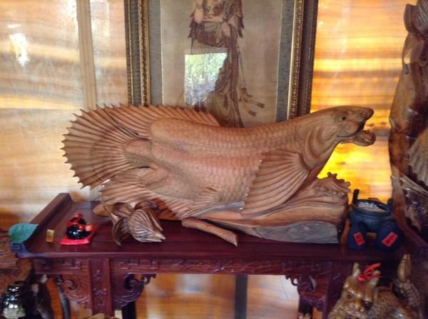 Скульптура Рыба
