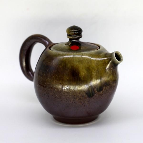 "Чайник глина дровяной обжиг ""Ферзь"" 210мл"
