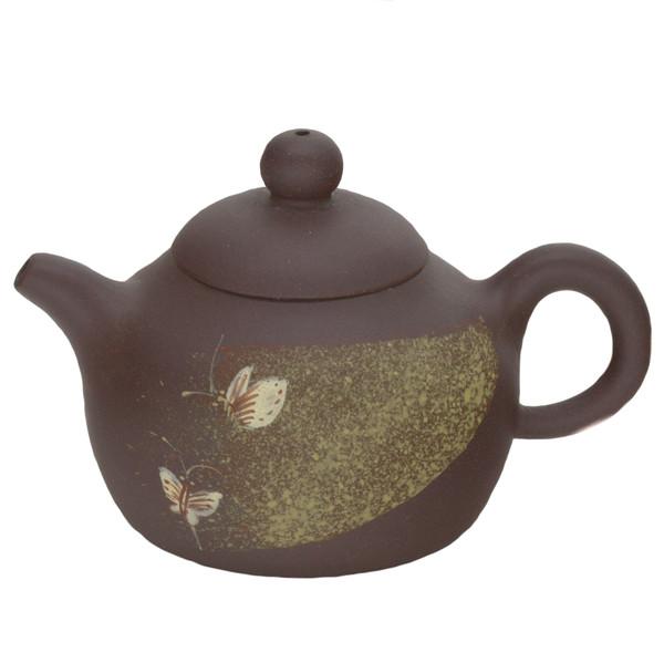 """Чайник глина """"Бабочки"""" 160 мл"""