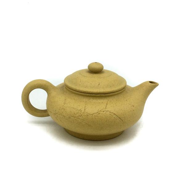 """Чайник глина жёлтая """"Бамбук"""" 100 мл"""