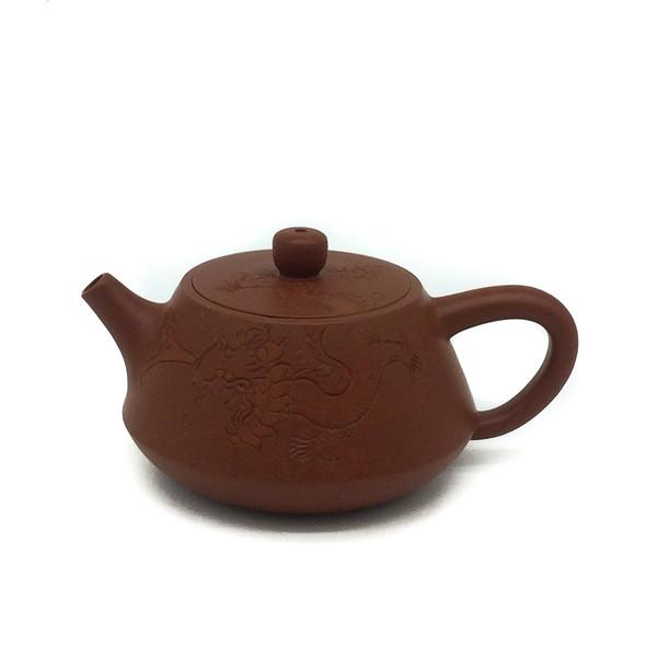 """Чайник глина рыжая """"Водяной дракон"""" 100 мл"""