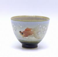 """Чашка фарфор """"Золотая рыбка"""""""