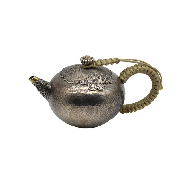 """Чайник серебро """"Мэй Хуа"""""""