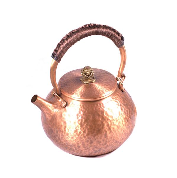 """Чайник для воды Медь """"Ручная ковка"""""""
