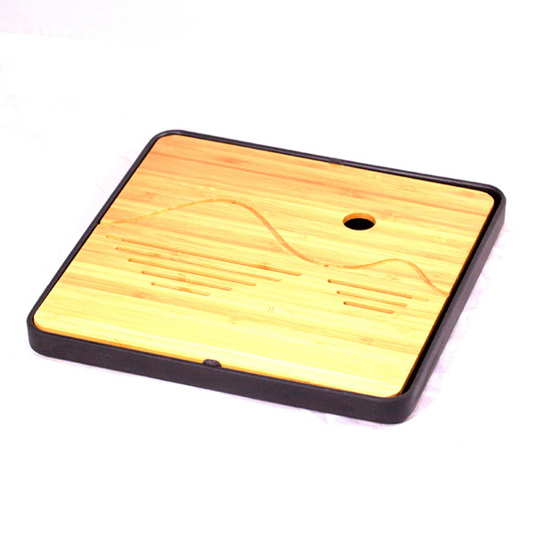 "Чайный столик бамбук ""Квадрат"" 24х24"