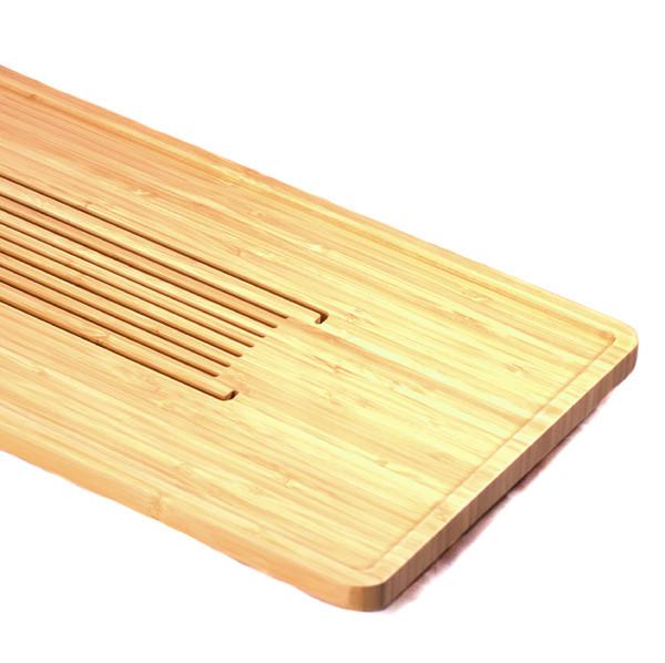 "Чайный столик бамбук ""Линии"" 25х50см"