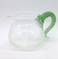 """Чахай стекло """"Граненый с зеленой ручкой"""" 340 мл"""