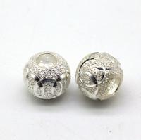 Бусина серебро 11мм