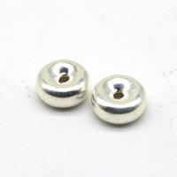 Кольцо бусина серебро 8мм