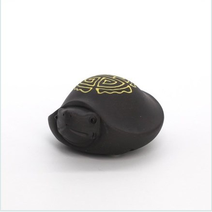 "Фигурка глина ""Черепаха"", черная"