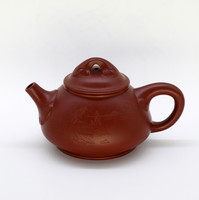 """Чайник глина коричневая """"Пейзаж"""" 160мл"""