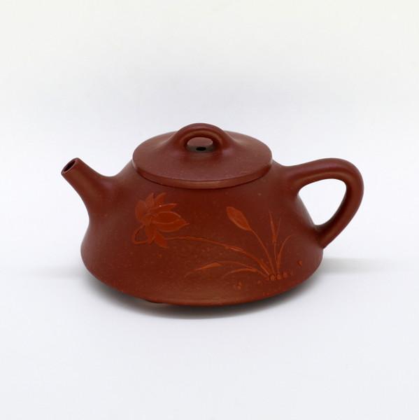 "Чайник глина рыжая ""Ши Пяо Лотос"" 75мл"