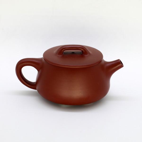 """Чайник глина рыжый """"Трапеция"""" 120мл"""