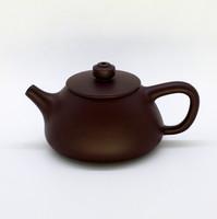 """Чайник глина коричневая """"Трапеция"""" 120мл"""