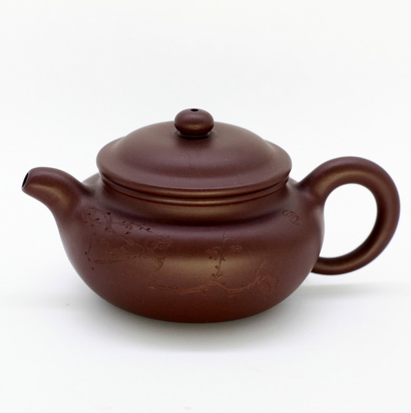 "Чайник глина коричневая ""Мэй Хуа"" 100 мл"