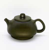 Чайник глина темно зеленая 235мл