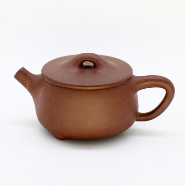 "Чайник глина коричневый ""Ши Пяо Каменный Ковш"" 90 мл"