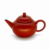 """Чайник глина рыжая """"Шуй Пин"""" 160мл"""