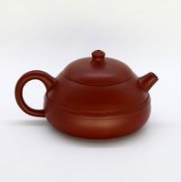 """Чайник глина рыжая """"С ободом"""" 170мл"""