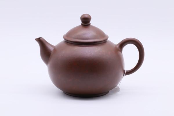 Чайник каштановая исинская и киноварная глины 220 мм