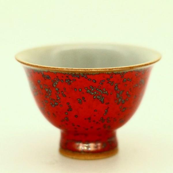 """Чашка фарфор из Цзин Дэ Чжэнь """"Панцирь Черепахи"""" 55 мл"""