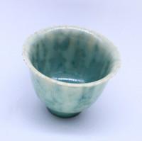 "Чашка фарфор из Цзин Дэ Чжэнь ""Лотосовая глазурь"" 75 мл"