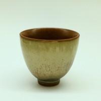 """Чашка фарфор из Цзин Дэ Чжэнь """"Песочная глазурь"""" 85 мл"""