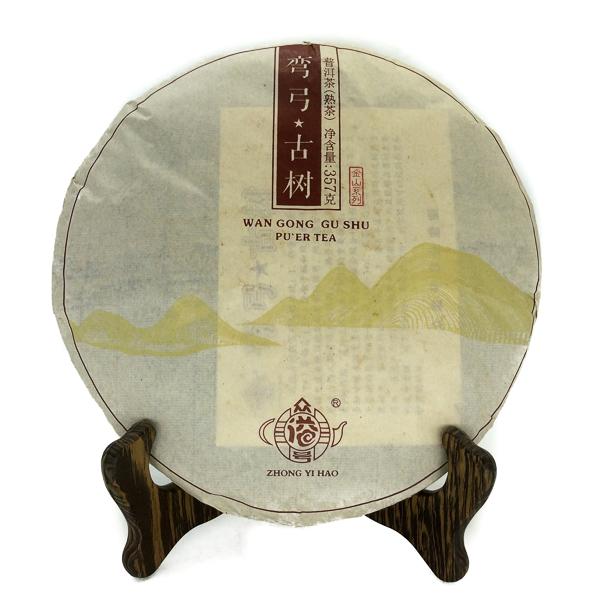 Чай Пуэр Шу Ван Гун Гу Шу Бин '12 №500