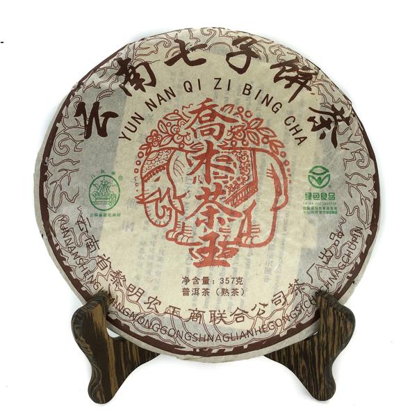 Чай Пуэр Шу Цяо Му Ча Ван '12 №1200