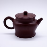 "Чайник глина коричневая ""Бутон лотоса"" 180мл"