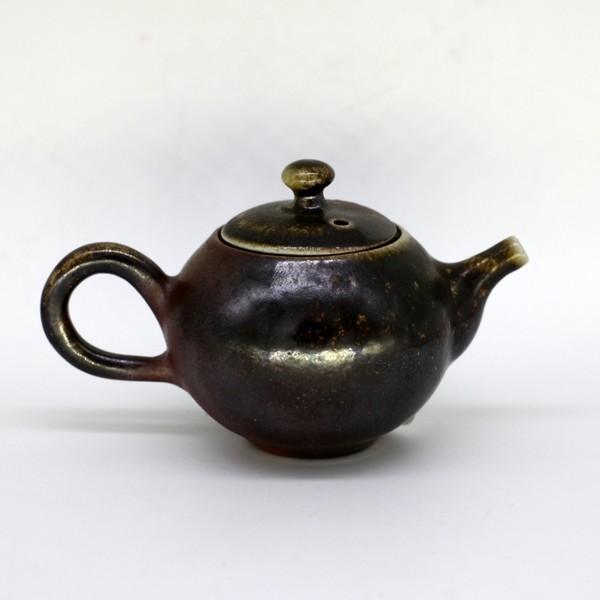 """Чайник глина дровяной обжиг """"Винтаж"""" 150 мл"""
