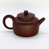 """Чайник глина коричневая """"Каменный Апельсин"""" 166мл"""