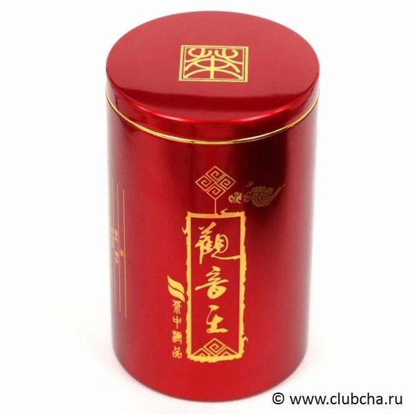 Баночка для чая жесть 100 mm