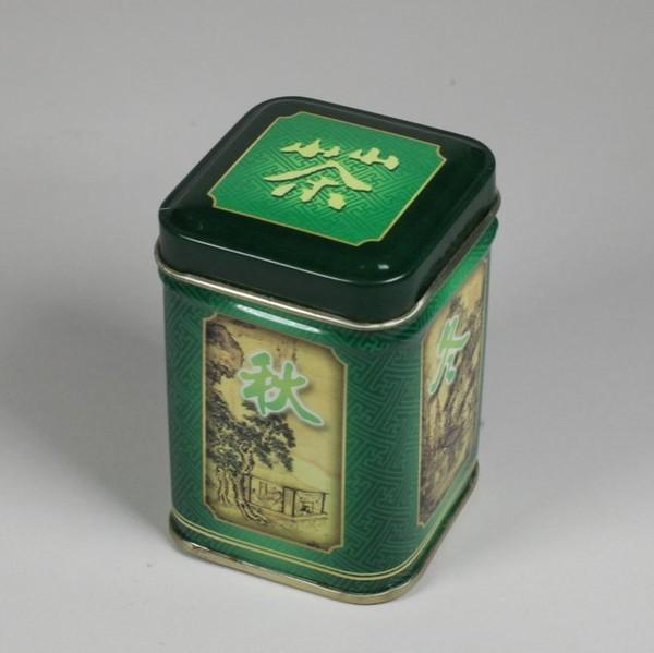 Баночка для чая жесть 65 mm