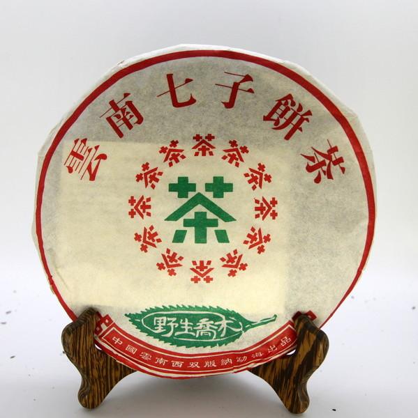 Чай Пуэр Шу Е Шэн Цяо Му Бин '18 №100