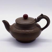 """Чайник глина коричневая """"Жемчужина дракона"""" 194 мл"""