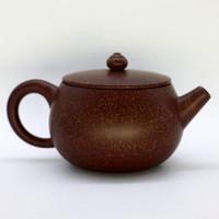 """Чайник глина коричневая """"Крапчатый"""" 266 мл"""