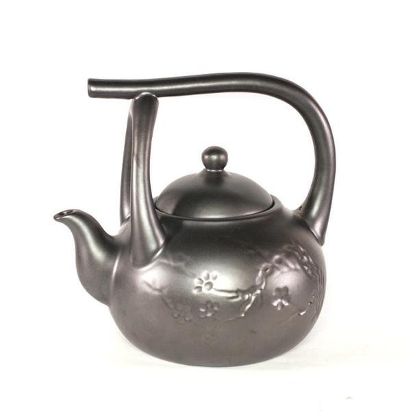"Чайник для воды глина ""слива"""