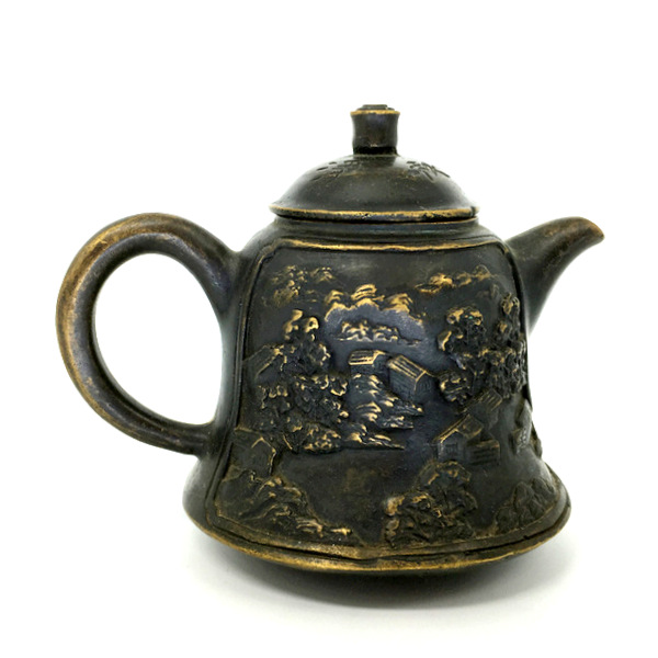 Чайник из бронзы