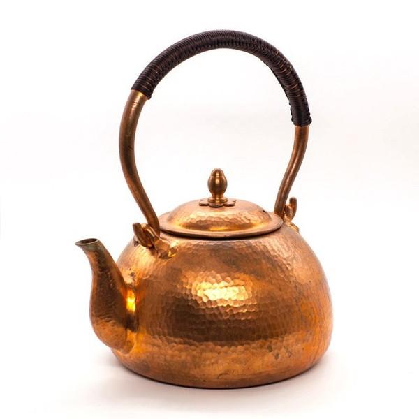 Чайник, медь, ручная ковка, №3