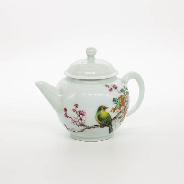 """Чайник, """"Птица в саду"""" Цзин Дэ Чжэнь 120 мл"""