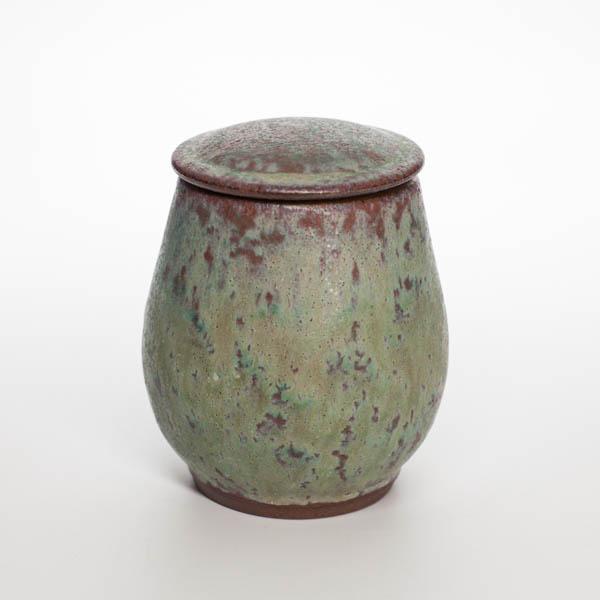 Чайница 3 (Глазурь Тьен Му)
