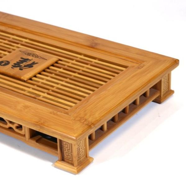 """Чайный столик, Бамбук """"Печать"""""""