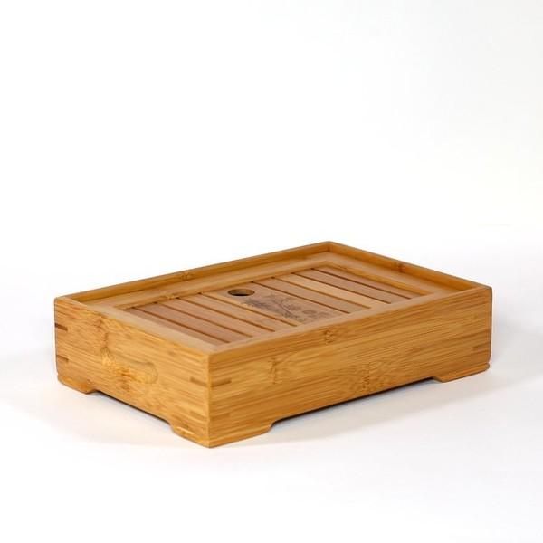 """Чайный столик, Бамбук золотой """"ЧжуЕ"""""""