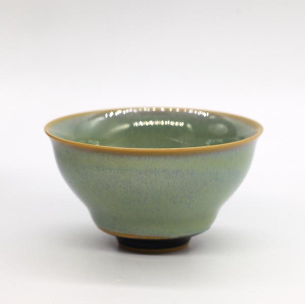 Чашка глазурь тенмоку