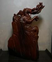 "Скульптура ""Дракон"", красное дерево"