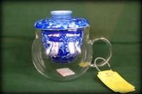 Чайник - колба, стекло с фарф. ситом (Цанг)